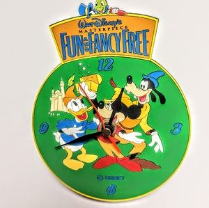 Mickey Mouse and friends Disney clock AS IS